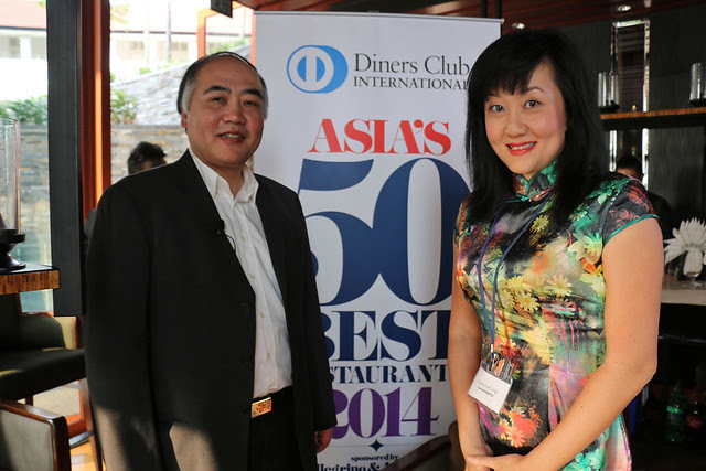 With Ivan Li, of Family Li Imperial Cuisine, who was given the Lifetime Achievement Award