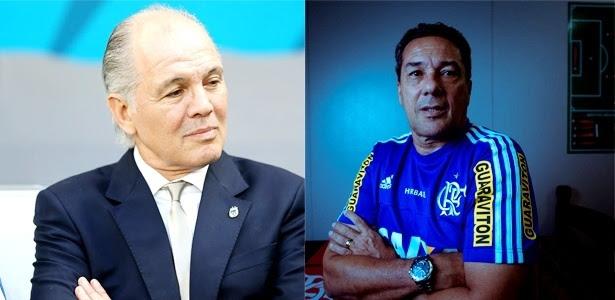Sabella e Luxemburgo, os cotados para substituir Muricy Ramalho no São Paulo