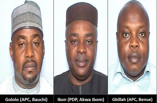 The 3 Nigerian lawmakers accused of soliciting sex and attempted rape in the united states of america have been banned from the county