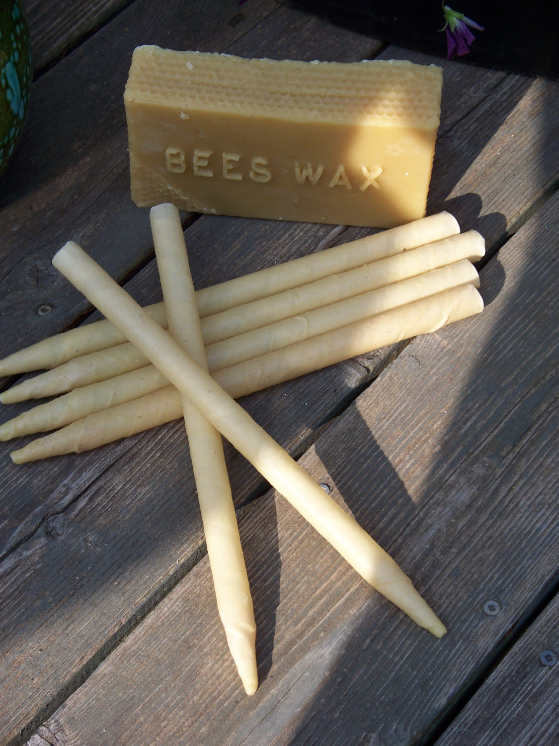 Ear Candles Made with Beeswax and Unbleached Muslin by ...