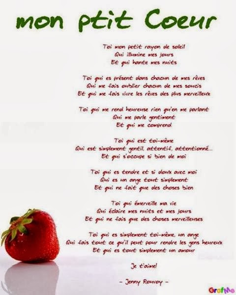 Poeme Damour Pour Ma Fille