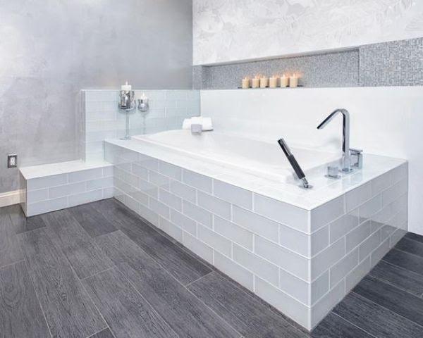 modern bathroom vinyl flooring | Zion Modern House