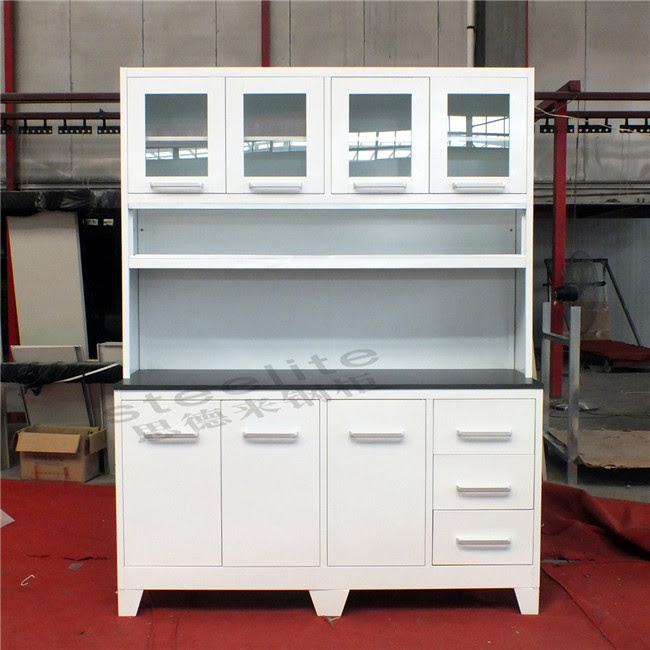 Metal Modular Kitchen Cabinets / Home Kitchen Pantry ...