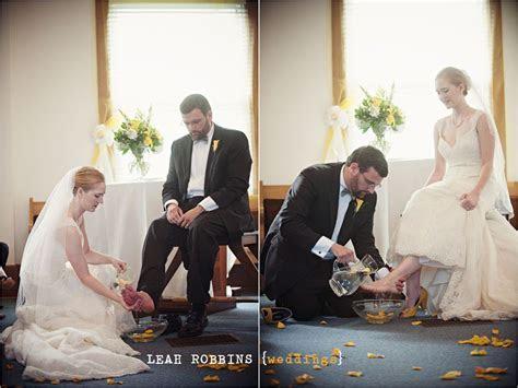 Leah Robbins Photography   washing of feet ,wedding