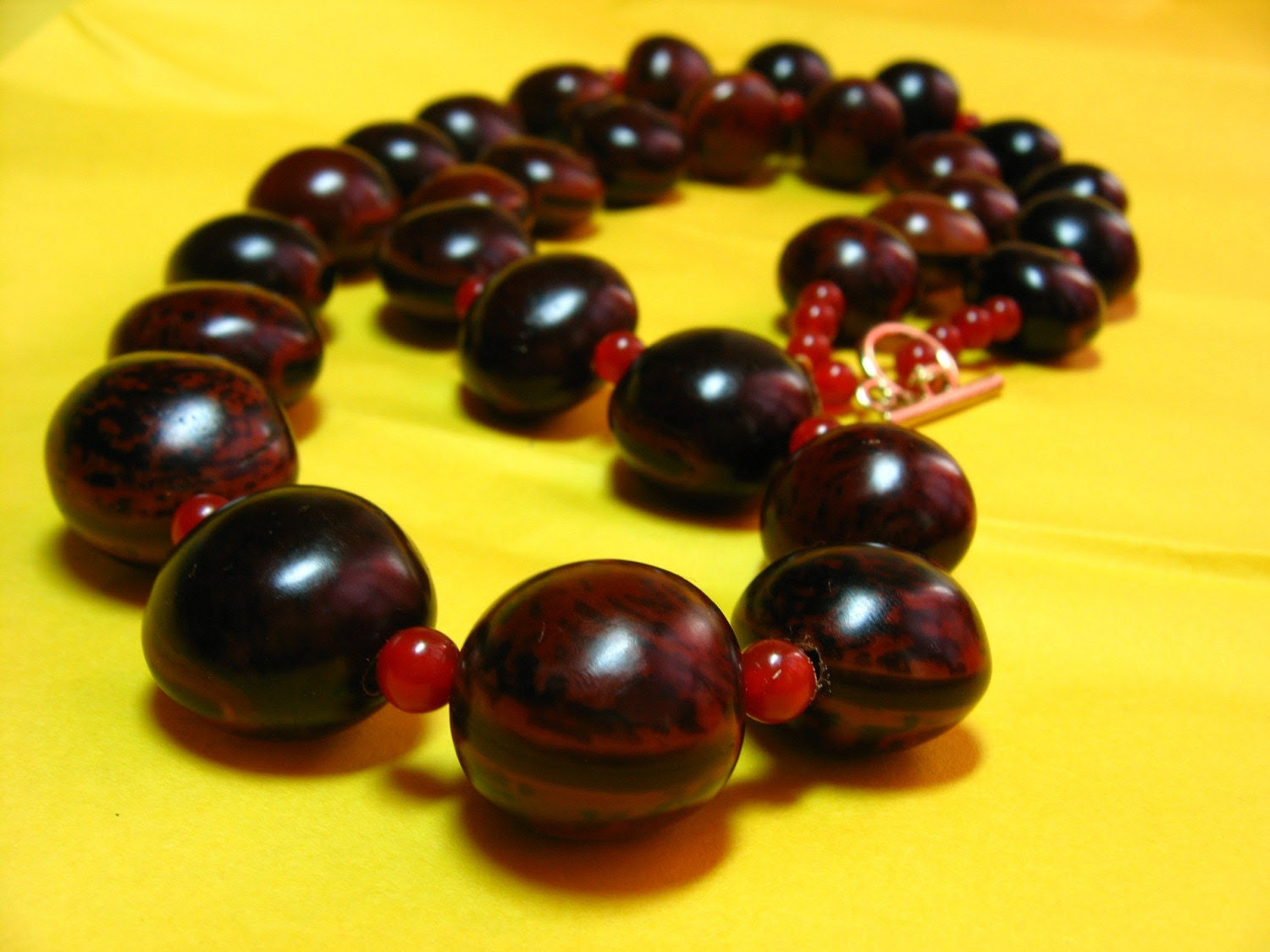 Bibakao and Carnelian Necklace