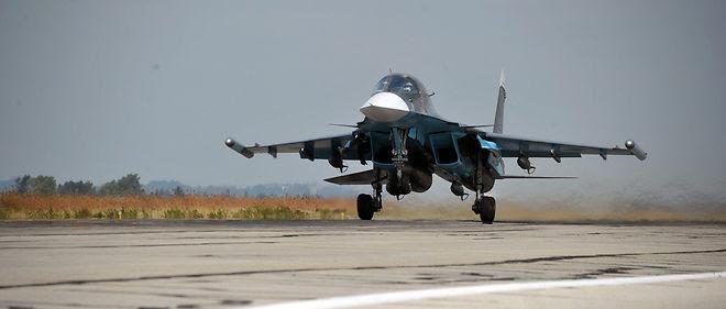 "L'armée russe a bombardé 472 cibles ""terroristes"" en 48 heures."