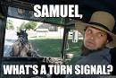 Amish Driver - samuel whats a turn signal