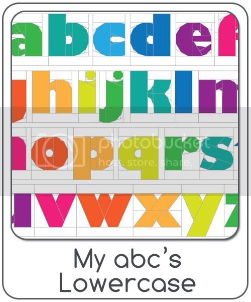 My abc's lowercase