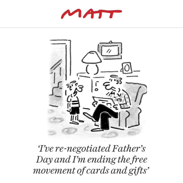 Matt cartoon, June 18
