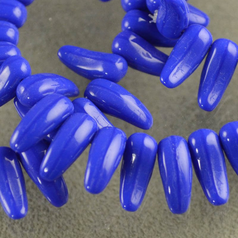 s38677 Glass -  Dragon Toes - Lapis Blue (30)