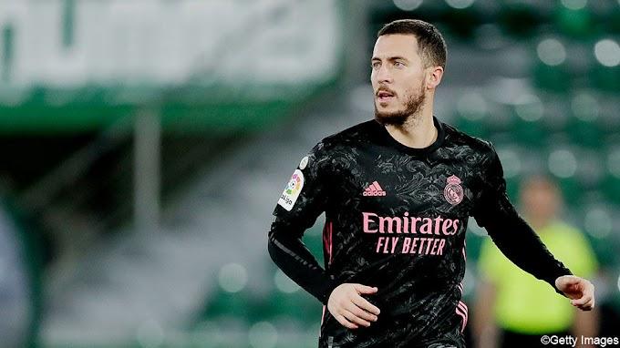 Hazard viert terugkeer bij Real, dat duur puntenverlies lijdt tegen Elche