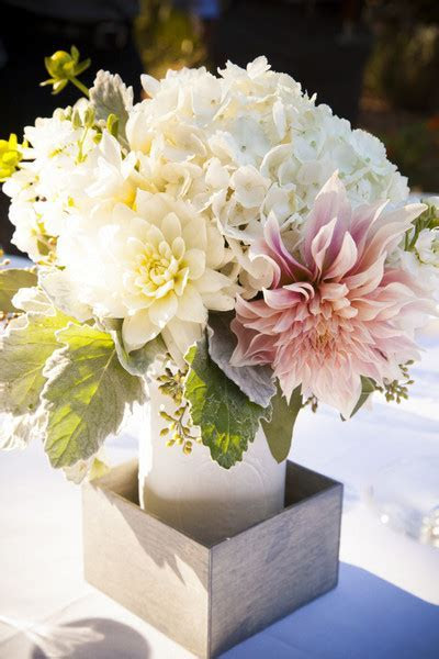 Dahlia Floral Arrangements, Wedding Flowers Photos by Town