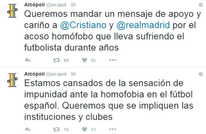 Arcópoli - Cristiano Ronaldo (Foto: Reprodução/Twitter)