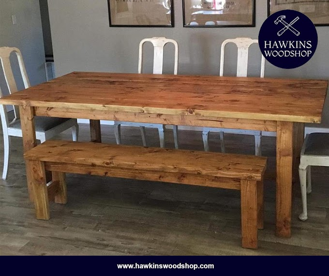 Trends For Rustic Farmhouse Dining Room Tables Photos