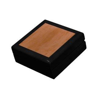 Tangerine Venetian Plaster Keepsake Boxes