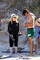 madonna wears all black to the beach 01