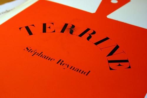 Terrine book