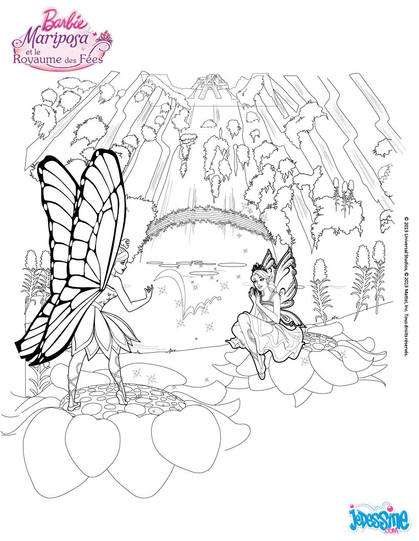 Mariposa et la Fleur de Flottauvent Le Royaume de Shimmervale