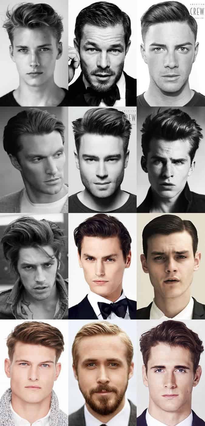Men's Classic Quiff Hairstyles Lookbook