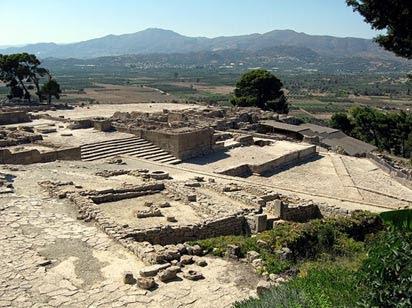 Complejos Palacio, Ruinas de Phaistos