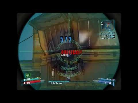 Let's Play Borderlands 2 Part 18  Defeating a Particularly Vexing Boss
