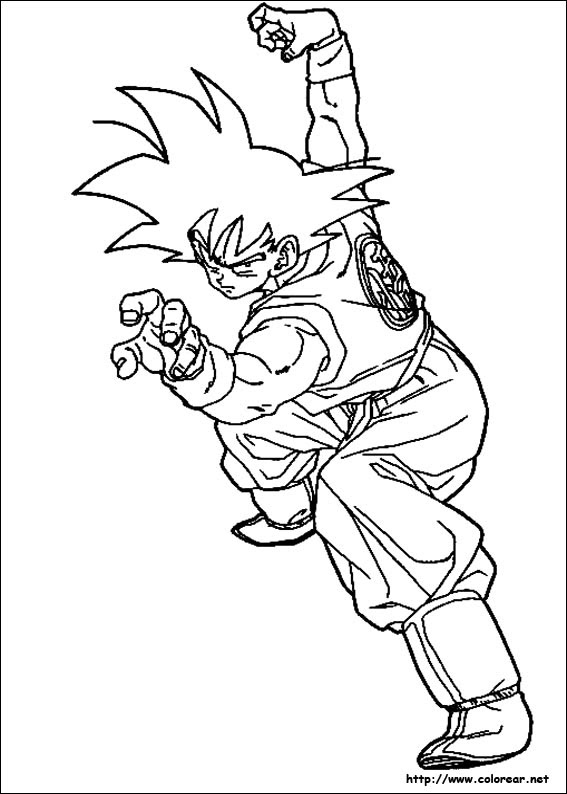 Dibujos De Dragon Ball Z Para Colorear En Colorear Net