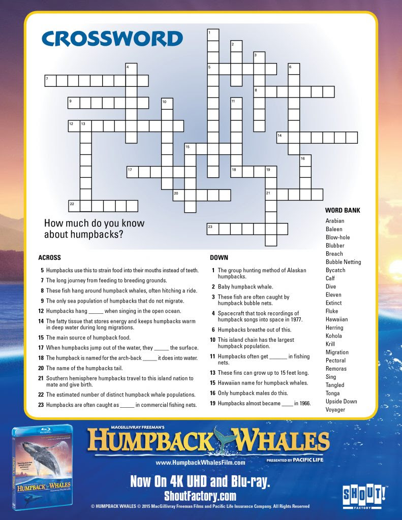 HumpbackWhales_Crossword