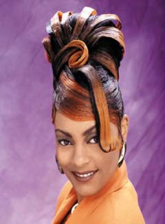 Twist Updo Hairstyle
