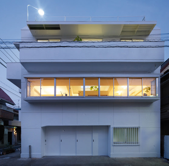 House In Ookayama H150 Best Minimalist House Ideas 2014