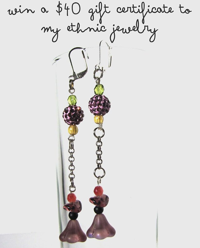 Win a gift certificate to My Ethnic Jewelry