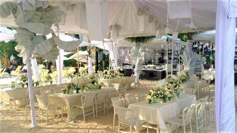 BEACH WEDDING SETUP J   Florista Flower Shop