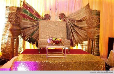 traditional wedding nigeria decor   Google Search   #