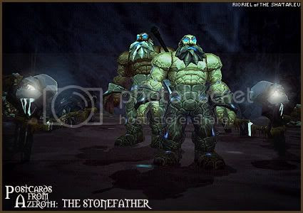 Postcards of Azeroth: The Stonefather