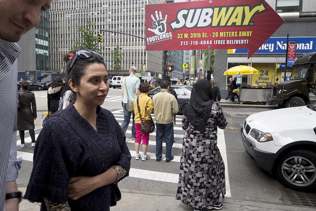 Subway sandwiches, Midtown