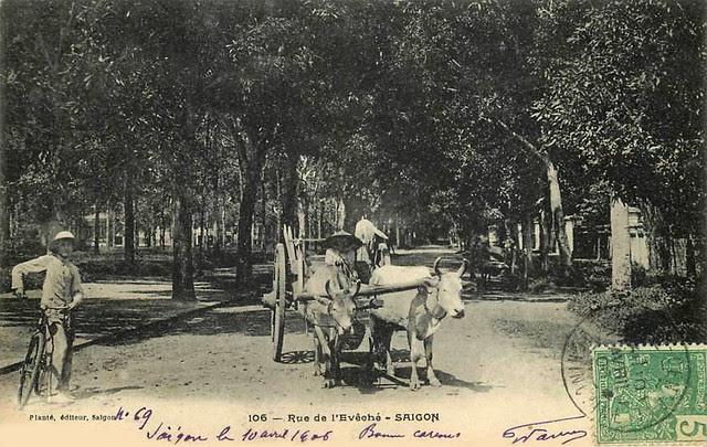 SAIGON - RUE DE L'EVECHE