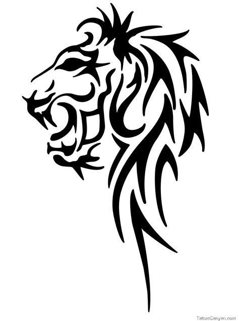 tattoo  males nipple  tribal leo lion head