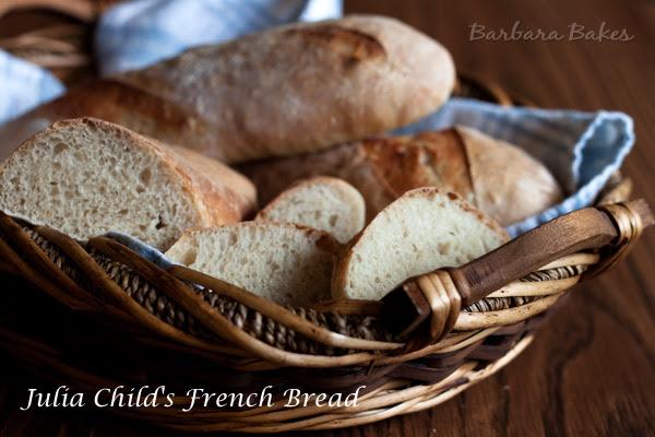 Julia Child's French Bread Recipe   Barbara Bakes