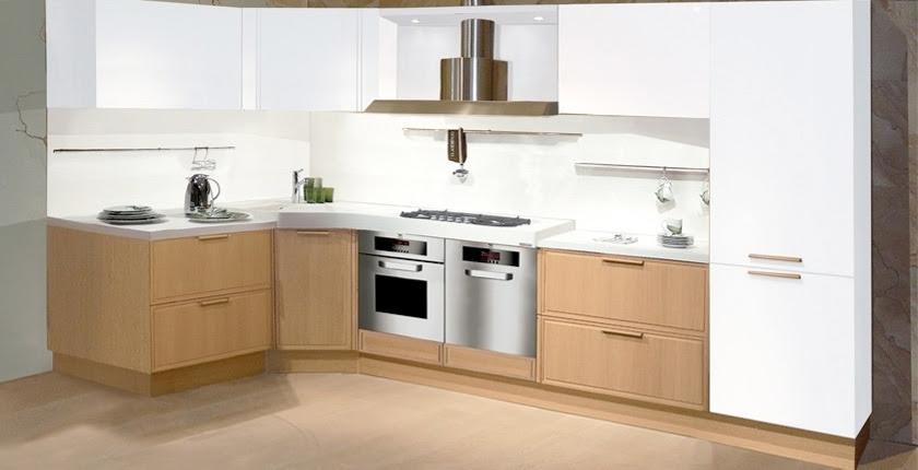 Light Oak Wooden Kitchen Designs - DigsDigs
