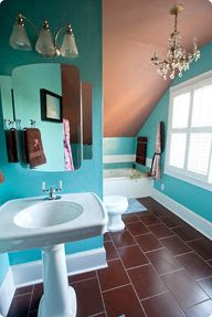 Brown Bathroom Deco Ideas