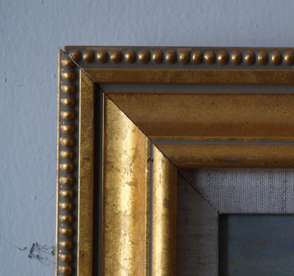 Gold Frame Beaded Outside 24 X 36 Inches Richard Stalter Fine Art