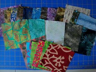 batik charm swap