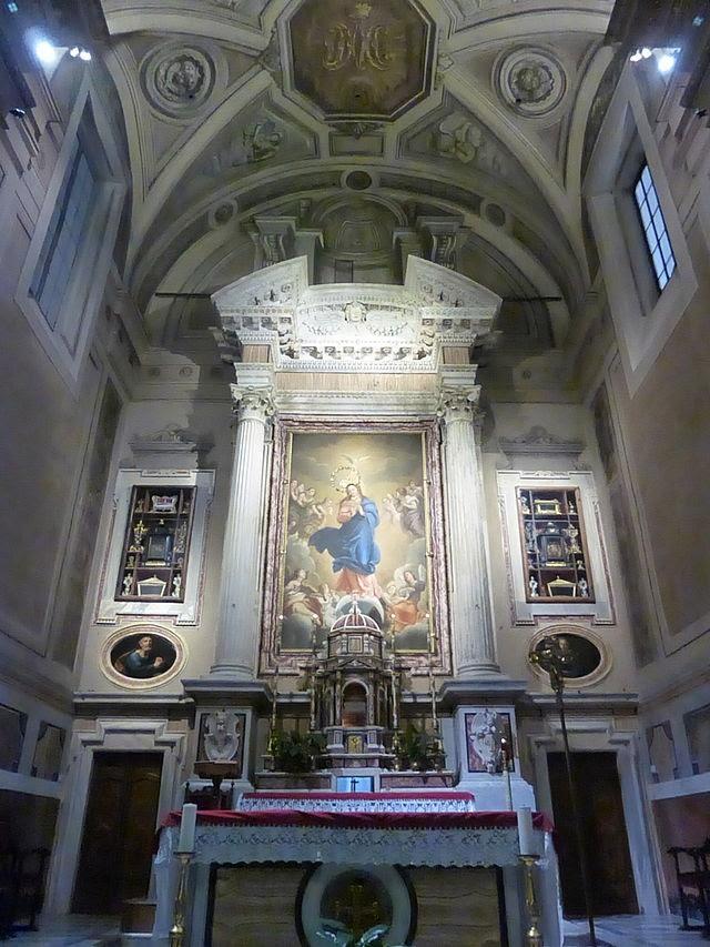Cappuccini AV Veneto - Altar maggiore P1060624.JPG