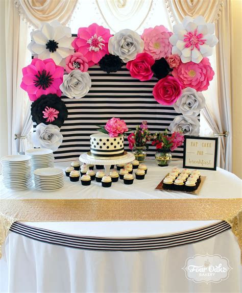 Kate Spade Inspired Bridal Shower at Greenhouse Winery in