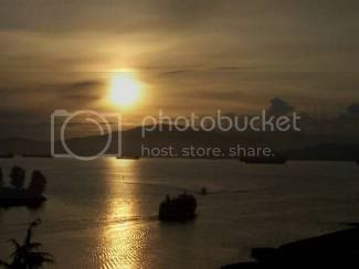 Sunset over English Bay(Vancouver)
