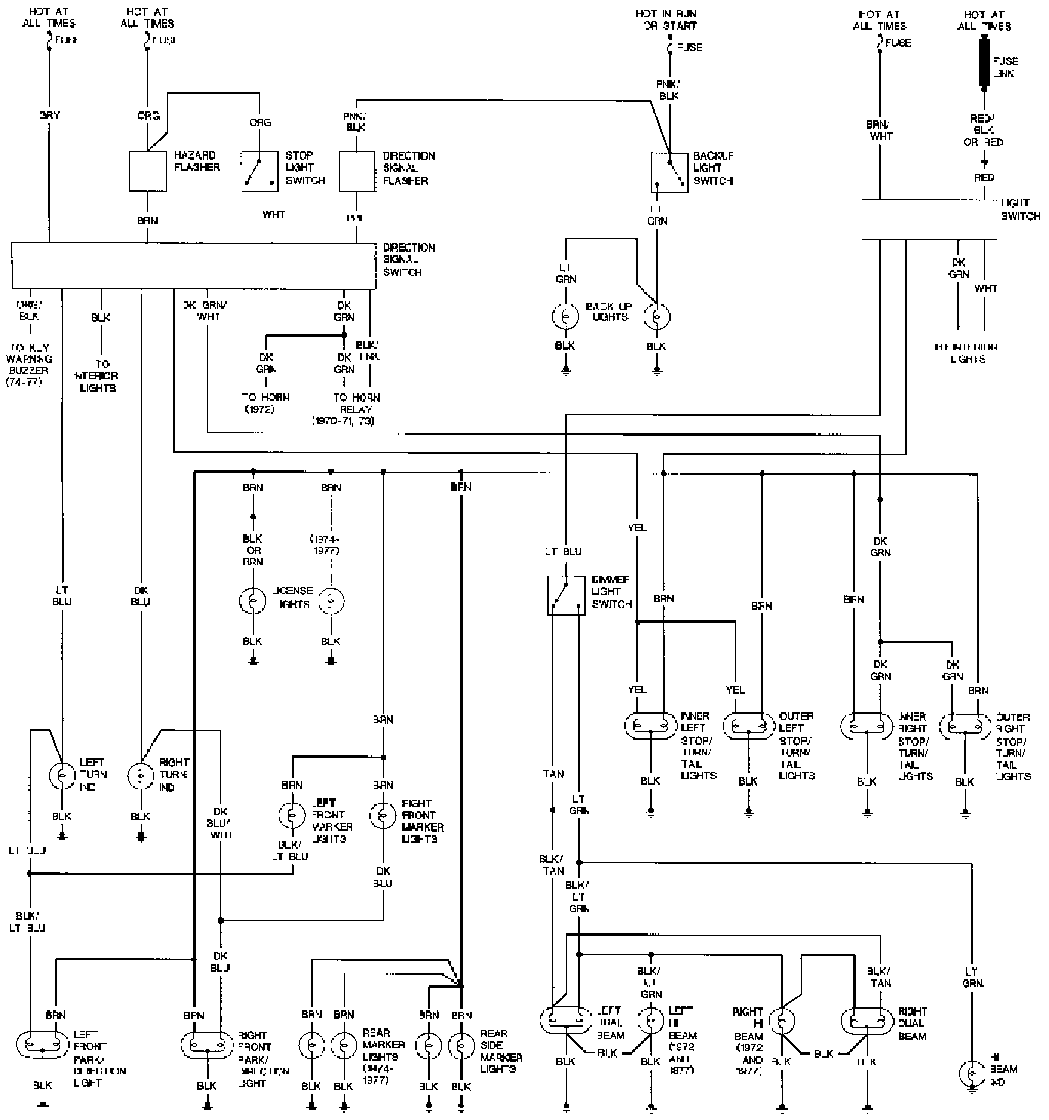 1969 Firebird Wiring Harness Diagram Schematic 2007 Toyota Camry Interior Fuse Box Bege Wiring Diagram