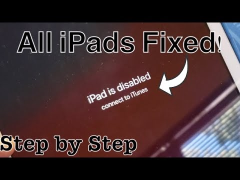 MED: How to Unlock iPhone, iPad- Ipad locked connect to Itunes