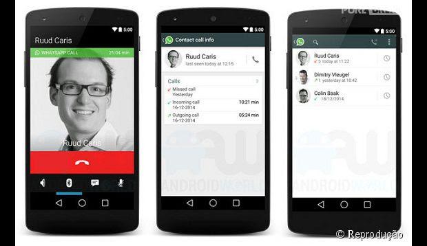 Whatsapp ganha recurso de chamadas com voz