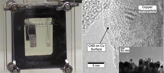 Catalisador barato converte CO2 diretamente em etanol