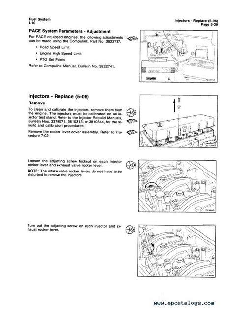 Cummins L10 Troubleshooting and Repair Manual PDF Download