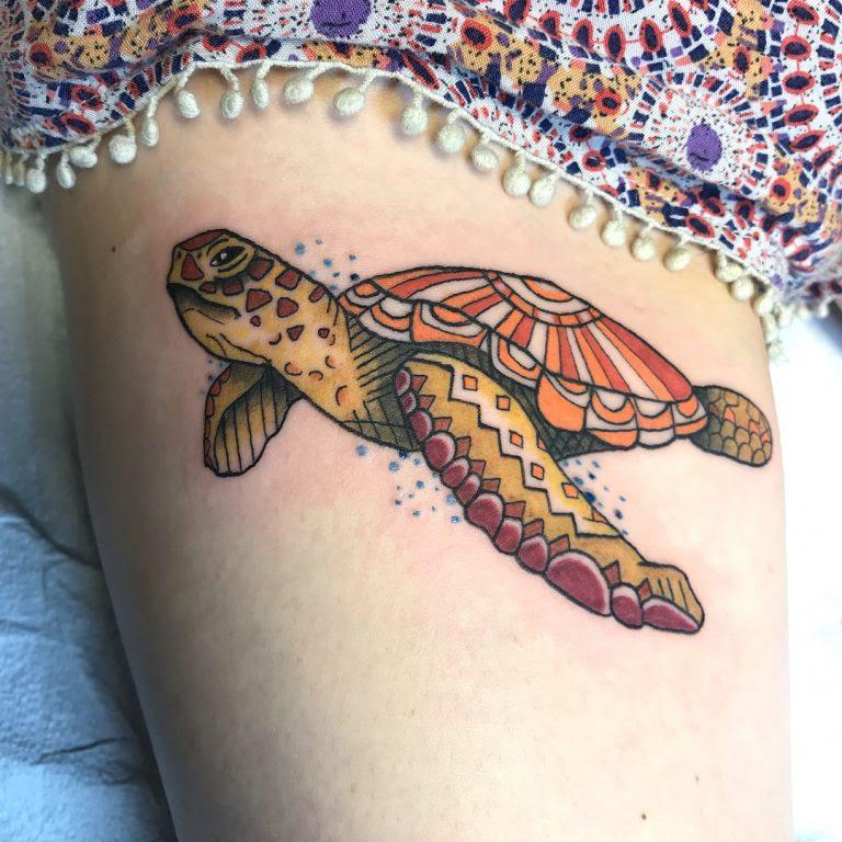 Hawaiian Sea Turtle Tattoo Meaning Crazywidowinfo
